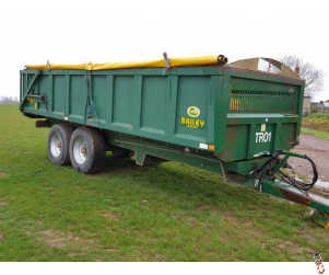 BAILEY 14 tonne Rootcrop Trailer, Hyd door, Rollover sheet