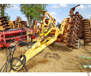 SIMBA 4.6 metre CultiPress, DD Rings, leading tines