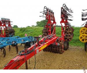 VADERSTAD REXIUS TWIN 630 Heavy Press, 6.3 metre, Raptor Tines