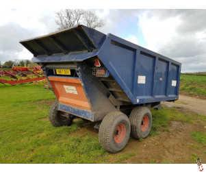 KEN WOOTTON 8 tonne Agri - Dump Trailer