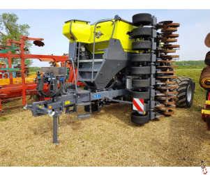 SKY EasyDrill W6020 Fertisem HD Pro I Grain & Fertiliser Direct Drill 6 metre , Year 2020, 380 hectares worked,