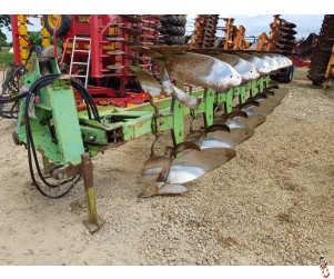 "DOWDESWELL DP6 Plough, semi mounted, 7 furrow (6 + 1) 14"" UCN"