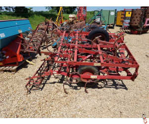 KONGSKILDE VIBROMASTER 5.9 metre Triple K Springtine Seedbed Cultivator