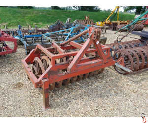 FARMFORCE 1.5 metre Front Press with 45 degree rings