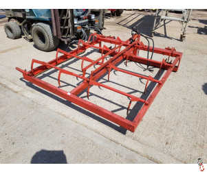 BROWNS FLAT 8 Bale Grab with side Bar, good