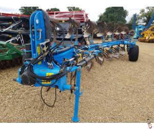 LEMKEN JUWEL 8V Plough 2013, 7 furrow (6+1) Hyd Vari, On-Land/In Furrow, slatted bodies