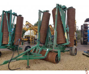 """COUSINS CONTOUR 12.8 metre Rolls, 24"""" /Breaker Rings"""