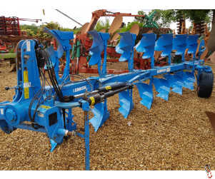 LEMKEN EUROPAL 8, On Land/In Furrow 7 furrow (6+1), 2007 All new metal