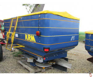 KRM BOGBALLE M3W Fertiliser spreader, 2008, Weigh cell