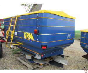 KRM BOGBALLE M3W Fertiliser spreader, 2008, Weigh cell