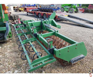 FRANQUET 4 metre hyd folding front press with leading tines