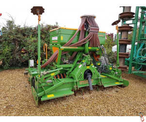 AMAZONE 3 metre Combination Seed Drill, 2010, Disc Coulter, 1295 hectares