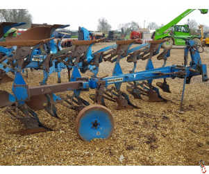 RABE EAGLE 120 Plough, 4 furrow (3 + 1) slatted bodies, skims