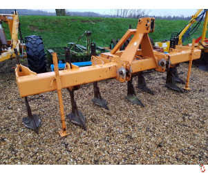 SUBSOILER Tine Bar with Rear 3 point linkage, 3.8 metre 7 leg