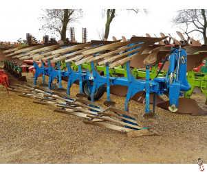 RABE RAVEN 1500 Plough, 5 furrow,  2009, slatted bodies