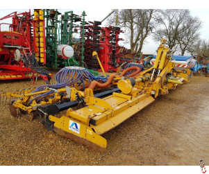 ALPEGO 8 metre Folding Combination drill, 2015, Disc Coulter, Front Hopper