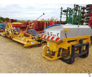 ALPEGO 8 metre Folding Combination drill, 2015, Disc Coulter, Front Hopper, 3100 Ha, Radar Metering