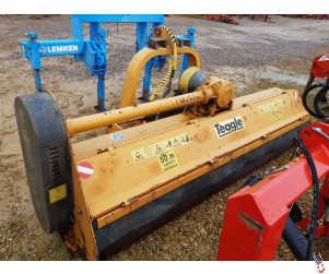 TEAGLE TBM 270 Heavy Duty Flail Mower, 2.7 metre