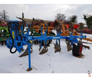 LEMKEN EUROPAL 7 Plough, 5 Furrow (4+1), 2009,