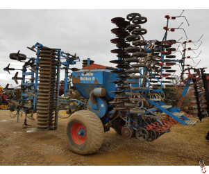LEMKEN SOLITAIRE SMARAGD 6 Metre Trailed Double Disc Coulter Seed Drill