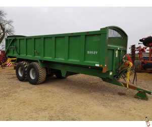 BAILEY 15 Tonne Root/Grain Trailer, 2005, Air & Oil Brakes, (1 of 2 - Matching Pair)