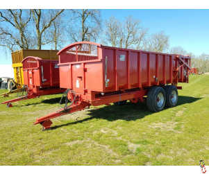 TRIFFIT 14 tonne Grain Trailer, Rollover Sheet, Hyd Door, (1 of 2 Trailers - matching pair)