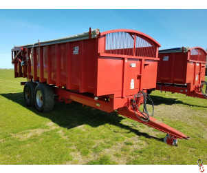 TRIFFIT 14 tonne Grain Trailer, Rollover Sheet, Hyd Door, (2 of 2 Trailers - matching pair)