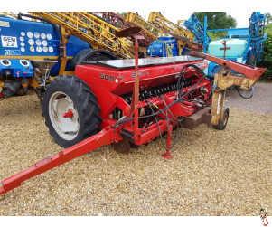 MASSEY FERGUSON 500 Disc Drill, 3 metre, Grain & Fertiliser, Close Space, 23 Row