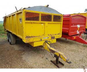 GULL 10 tonne Root/Grain Trailer with Auto Door, Rollover Sheet,