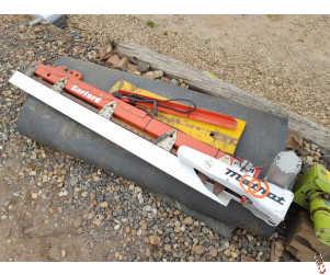MATROT Combine Side Knife Cutterbar, Electric Drive