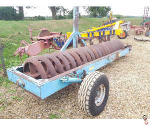 """SUTON Heavy Press, 3.5 metre (12ft) 28"""" Rings, Hyd End Tow"""