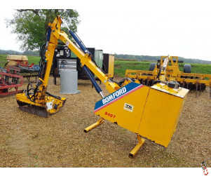 BOMFORD B407 Hedgecutter, 3 Point Linkage, Cable Control