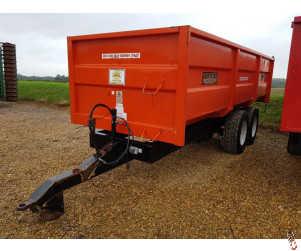GRIFFITHS 12 tonne Monocoque Grain Trailer