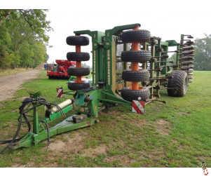 AMAZONE CENTAUR 5001 Tine-Disc-Press Cultivator, 5 metre
