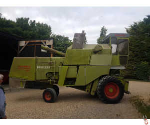 Claas Senator 85 combine harvester, 1980, 12ft header,