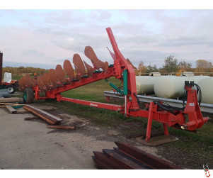 KVERNELAND RX100 12f (7+4+1) semi mounted on-land / in-furrow wagon plough