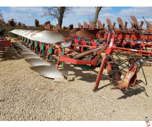 KVERNELAND RS100 Plough, 8 furrow, (7 + 1), Semi-Mounted,