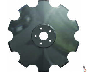 "20""/510mm x 6mm, 5 stud, P11462, Cutaway Disc Blade to suit Simba/Great Plains X-Press disc, SL and Opico Varidisc"