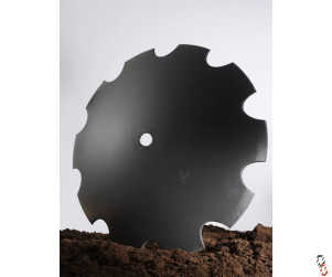 "28""/710mm x 6mm, 50.8mm round centre, cutaway disc blade for Dowdeswell"