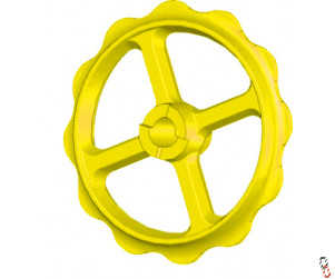 "Bison Press Roller Ring to fit Vaderstad Carrier ""Claw/Smooth""  Ductile High Quality OEM 424338"