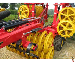 Bison Press Roller Ring, Ductile, Complete set for 4.5m Vaderstad Rexius Twin 450