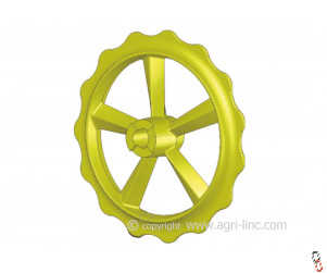 """Bison Press Roller Ring, """"Claw/Smooth"""", Ductile, High Quality to fit Vaderstad Rexius Twin"""