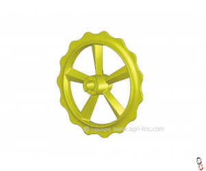 """Bison Press Roller Ring """"Smooth/Smooth""""  Ductile High Quality to fit Vaderstad Rexius Twin"""