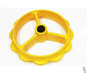 "Bison Cambridge Roll Ring 550mm (22"") suit Vaderstad Heavy Duty OEM:101080 to fit Rollex/Rexius"
