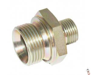 "Hydraulic Reducing Adaptor 1/2 x 3/8"" BSP Male/Male"