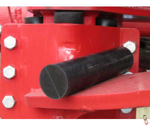 InvertaMax Rubber suspension section 50mm x 200mm