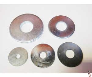 Metric BZP Repair Washers, Range of Sizes