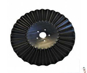 "20""/510x6mm TopStir Wavy Disc Blade 60.5mm Centre 5 stud hole suits X-press, SL & Varidisc"