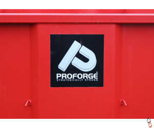 Proforge brand-name stickers SQUARE