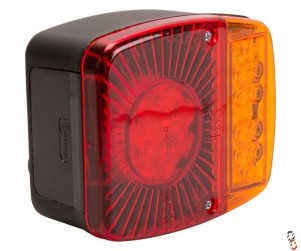 Proforge Rear LED Light 5 Pin 121x101x56mm